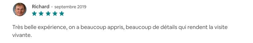 """Avis à propos de la balade """"La Côte sauvage et ses mégalithes"""""""