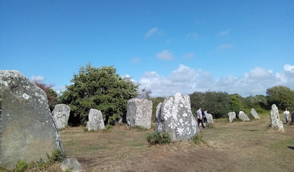 Circuit des mégalithes à Erdeven, les alignements de Kerzerho