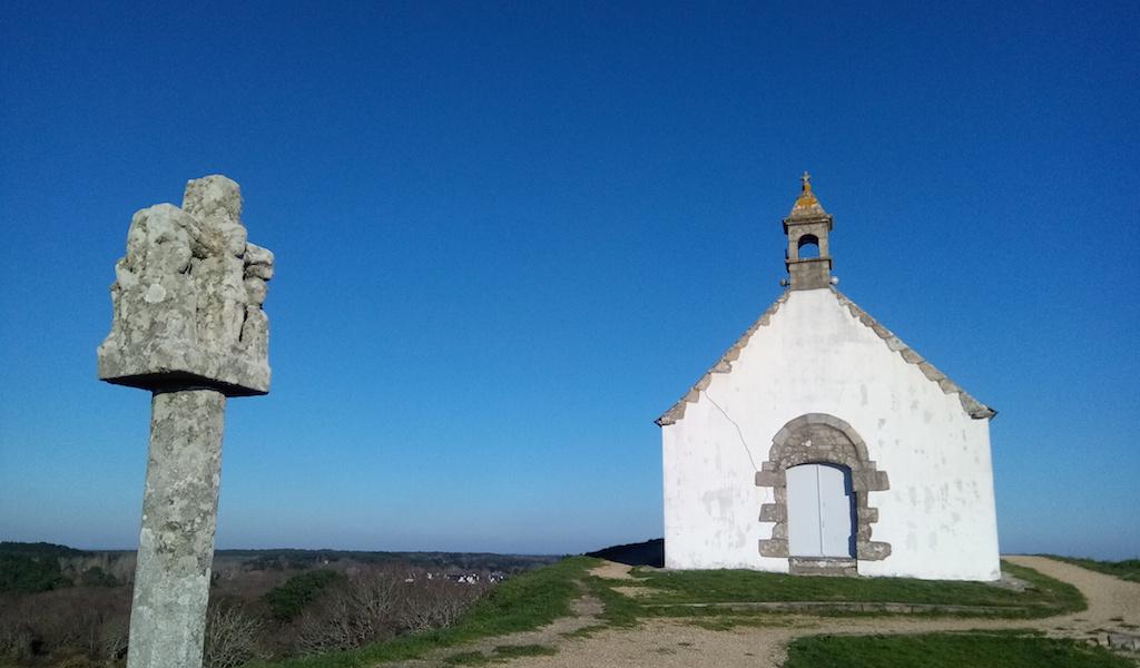 Balade à Carnac, vers le tumulus Saint-Michel